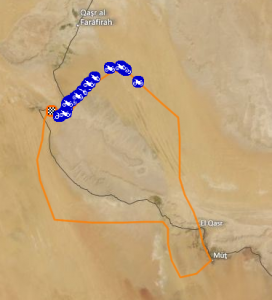 pharaons rally 2012 4th stage